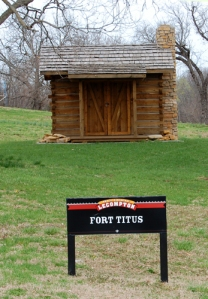 Fort Titus today