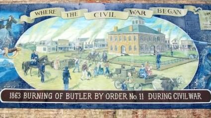 Butler History Mural