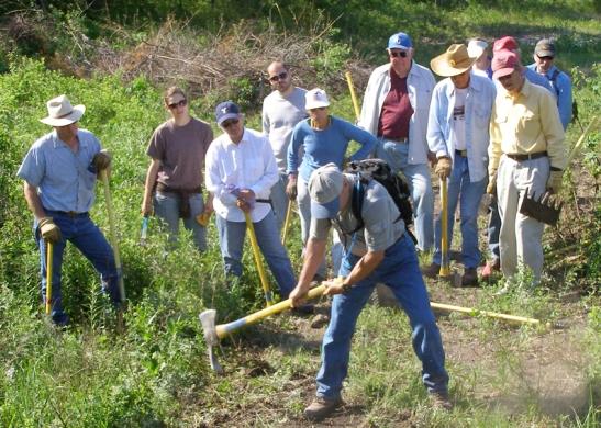 Prairie Guards Build Trails