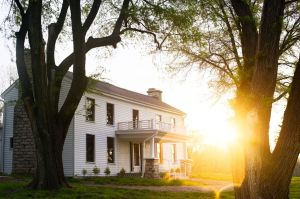 Atkins Johnson Farm in Gladstone, Missouri, preserves one of the oldest, continuously lived in homes in western Missouri.