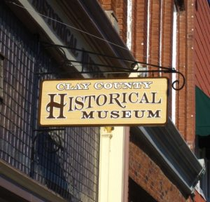 Clay County Historical Museum in historic downtown Liberty.