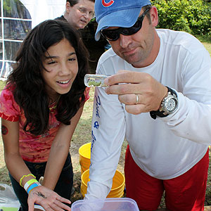 Citizen scientists participate in BioBlitz at Biscayne National Park in 2010. Photo: NPS/Ginny Reams