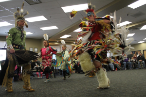 American Indian dance demonstrations at Native Neighbors in Ottawa, Kansas.