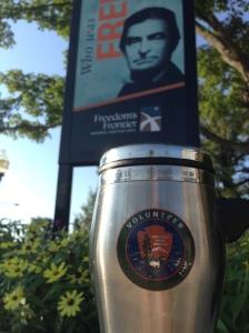 My well-worn NPS volunteer travel mug.