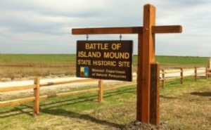 Missouri Department of Natural Resources administers state parks and historic sites like the Battle of Island Mound State Historic Site.