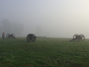 View of Westport Battlefield at Swope Park unspoiled by trash.